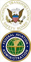 NTSB & FAA Logos